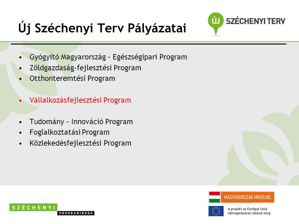 Határidők A rendelkezésre álló idő: általában 24 hónap, de legkésőbb 2013.12.31.