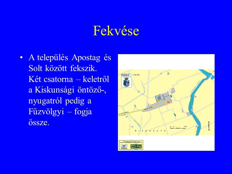 Fekvése A település Apostag és Solt között fekszik.