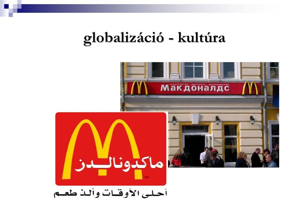 globalizáció - kultúra