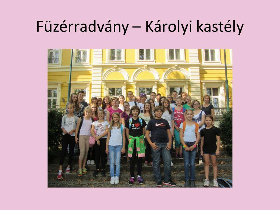 Füzérradvány – Károlyi kastély