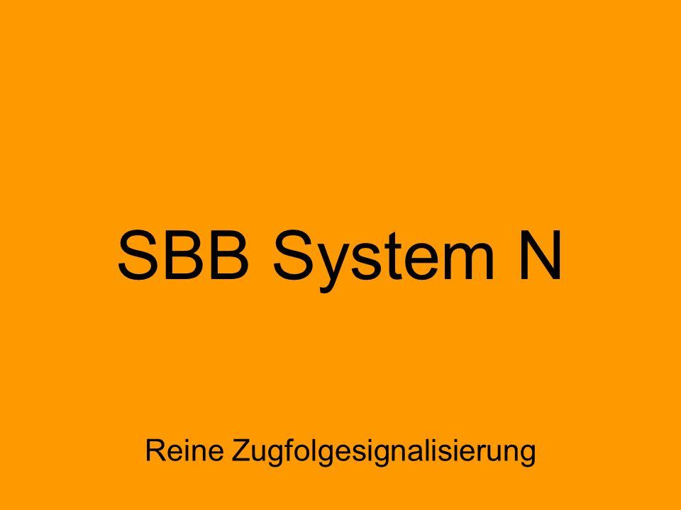 Einabschnittssignalisierung Mehrabschnittssignalisierung H/V Hp L ÖBB L(K) N Ks E Reine Zugfolgesignalisierung Zugfolgesignalisierung mit integrierter Geschwindigkeitssignalisierung SBB System N F1, F2, F3, F5 Hp1 Hp2 F1, F2, F3 10 Einlichtsystem