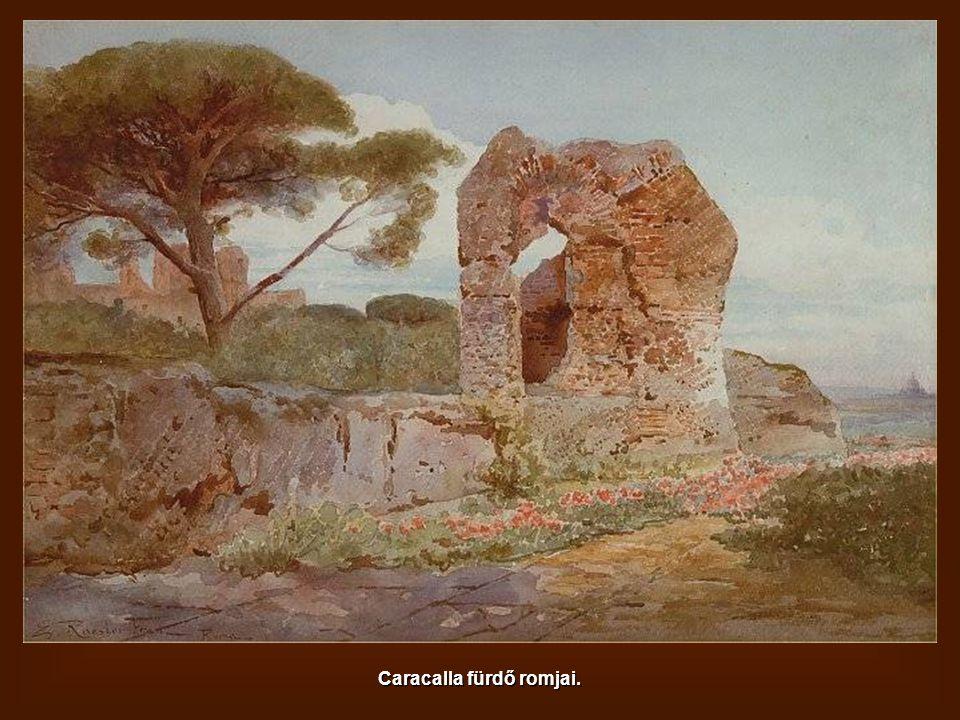 Salaria híd és Aureliano falai.