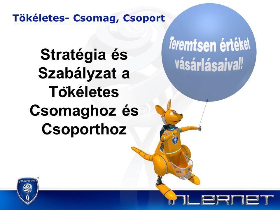 Stratégia és Szabályzat a To ̈ kéletes Csomaghoz és Csoporthoz Tökéletes- Csomag, Csoport