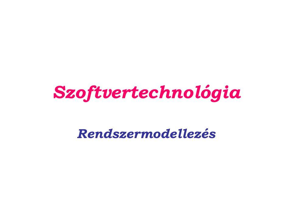 Szoftvertechnológia Rendszermodellezés