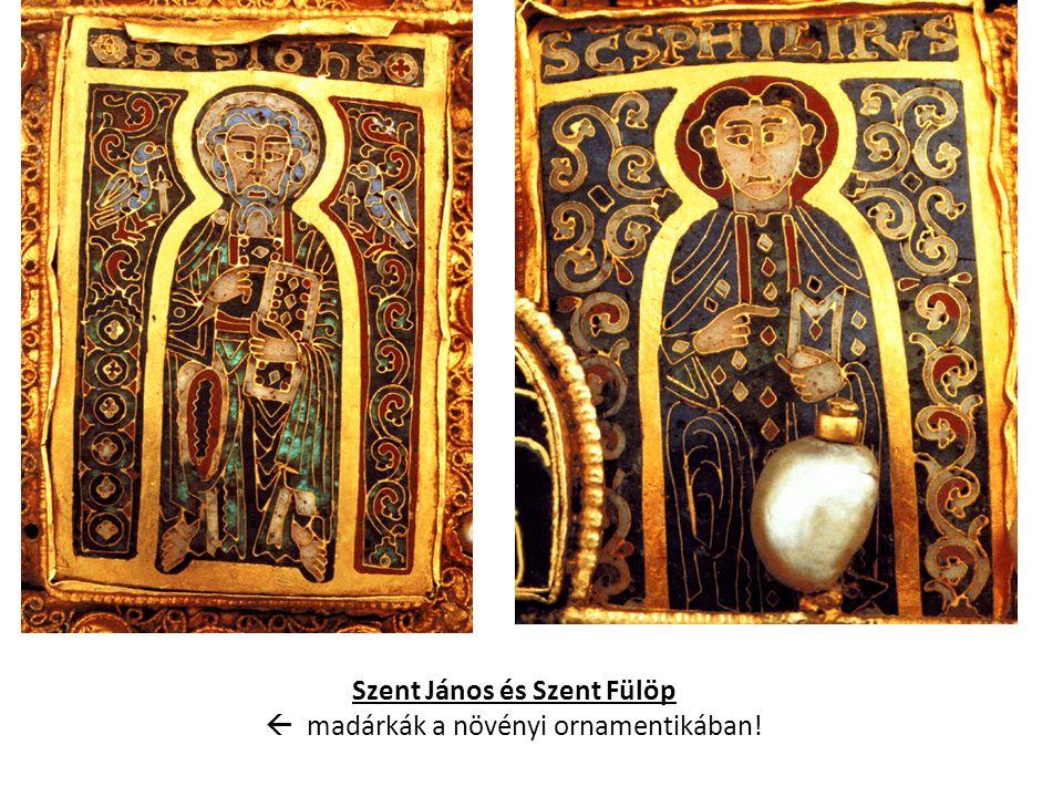 Szent János és Szent Fülöp  madárkák a növényi ornamentikában!