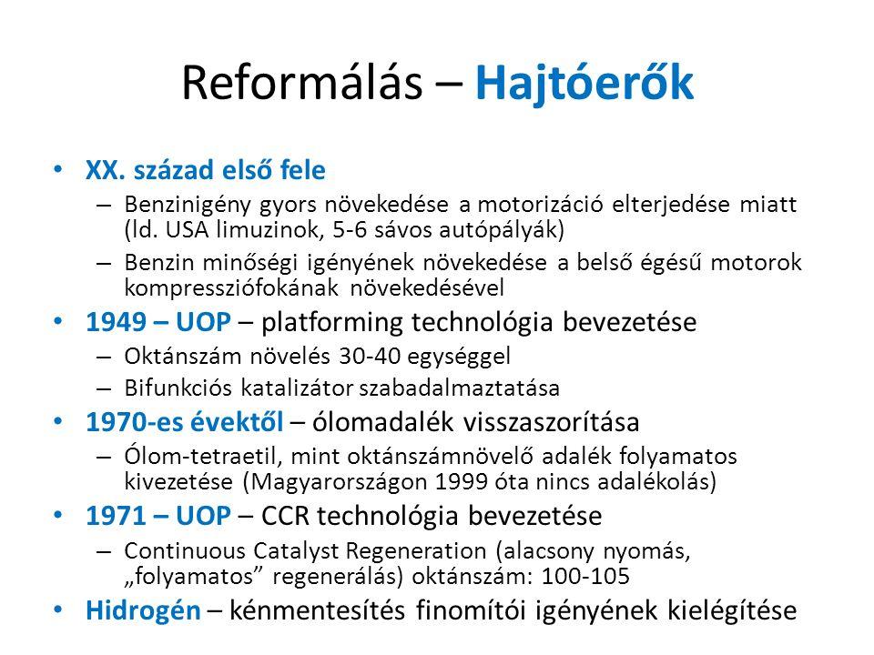 Reformálás – Hajtóerők XX.