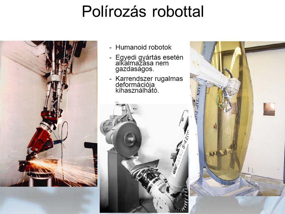 Polírozás robottal