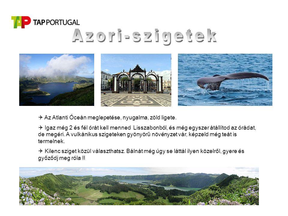  Az Atlanti Óceán meglepetése, nyugalma, zöld ligete.