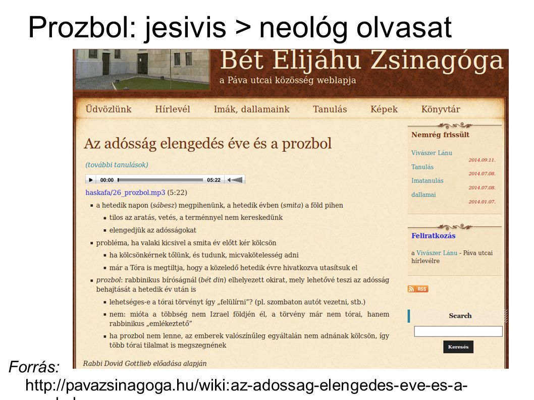 Prozbol: populárissá tett talmudista haszid olvasat Forrás: http://steinsaltz.org/learning.php?pg=Daf_Yomi&articleId=1096 – Aleph Society