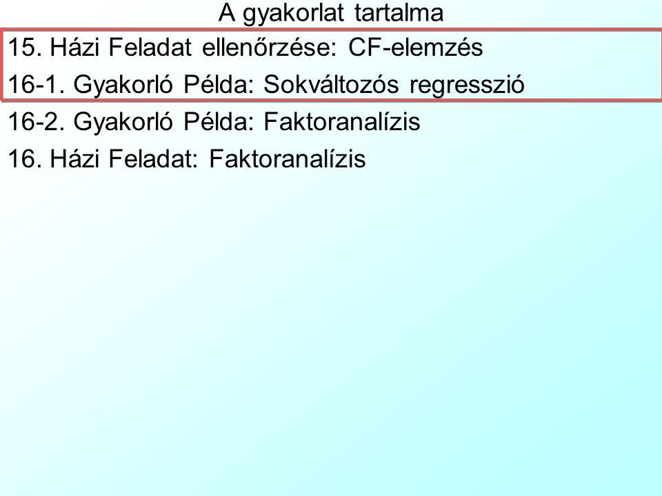Pécsi Tudományegyetem Pollack Mihály Műszaki Kar Műszaki Informatika Szak Data Mining 16.