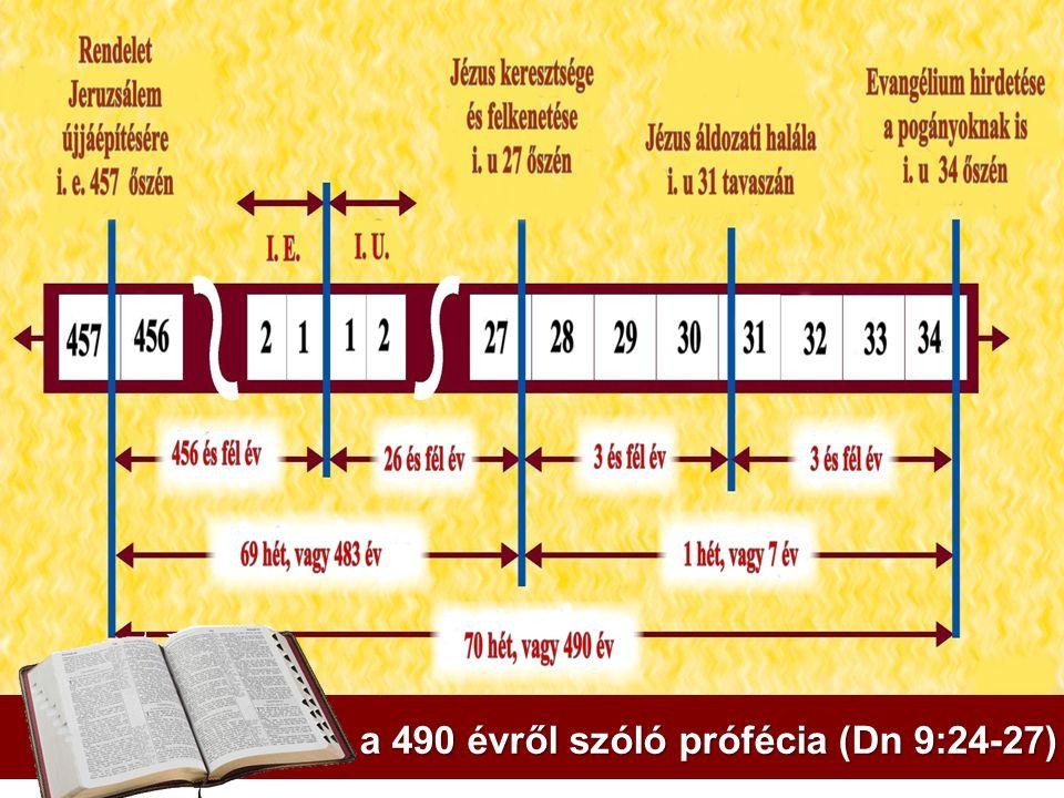 a 490 évről szóló prófécia (Dn 9:24-27)