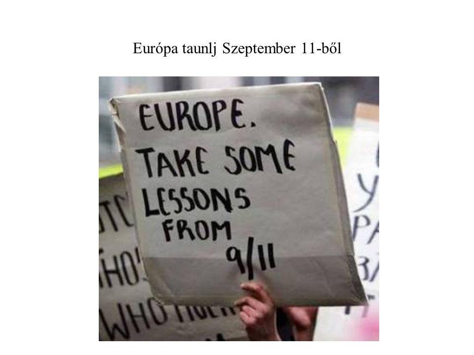 Európa taunlj Szeptember 11-ből