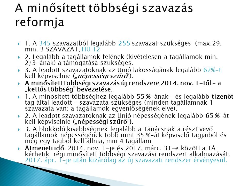  Végrehajtási aktusok EUMSz.291.