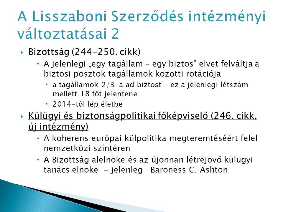  Bizottság (244-250.