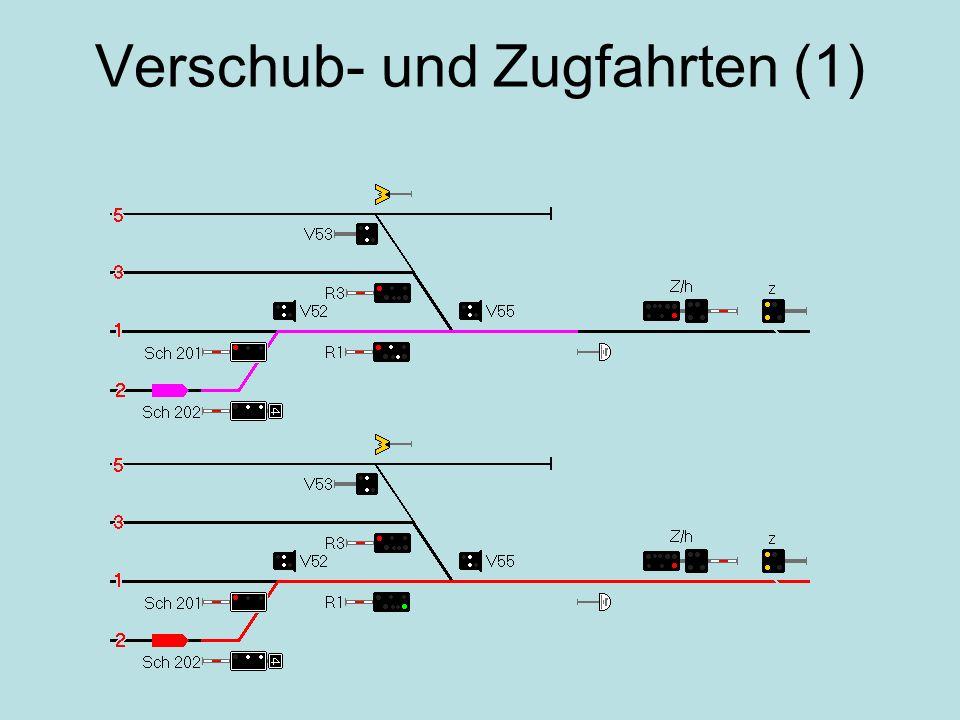 Verschub- und Zugfahrten (1)