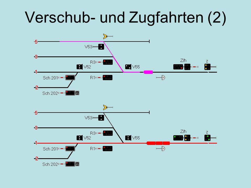 Verschub- und Zugfahrten (2)