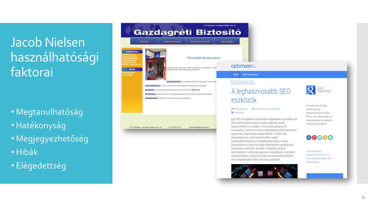 Ki profitál a használható és elérhető honlapokból.