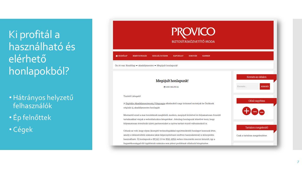 Webdizájn- trendek Reszponzív Minimalizmus/ flat design Egy oldalas (one page) Parallax Nagy, minőségi képek és videók … 8