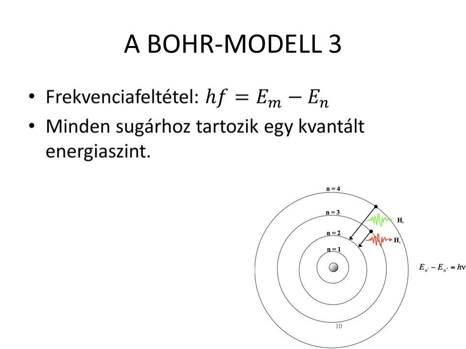 A hidrogéngáz vonalas színképe 1