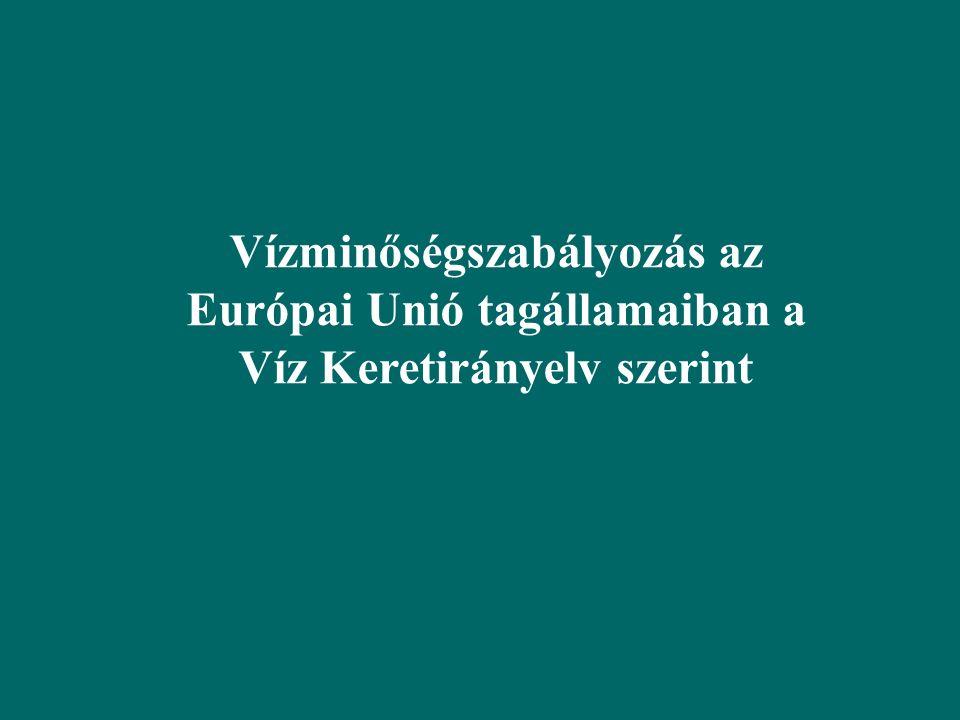 Nitrát direktíva: a mezőgazdasági tevékenység szabályozása Nitrát-érzékeny területek kijelölése Állattartó telepek: trágyatárolás (műszaki előírások) Földhasználat: jó mezőgazdasági gyakorlat, erózióvédelem, tápanyag gazdálkodási szaktanácsadás, trágyakijuttatás szabályozása Nyilvántartási, adatszolgáltatási kötelezettség, Ellenőrzés Agrár környezetvédelmi program: célzott támogatások Szántó/gyep konverzió, gyümölcsös telepítése, őshonos állatok beszerzése, az állattartáshoz kapcsolódó legeltetési berendezések helyre-állítása, létesítése (karámépítés, itatók, stb.), agrár-környezetvédelemhez kapcsolódó eszköz, illetve járulékos munkagép beszerzése, talajvízháztartás helyreállítása, épület beruházások, feldolgozási, marketing támogatások stb.