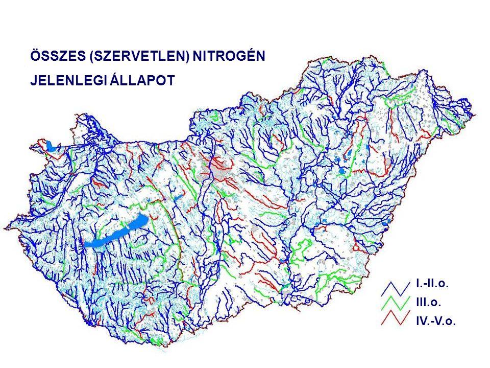 Öko Rt. vezette konzorcium Dr. Clement Adrienne BME VKKT Szenny- víz kib. (db) 2004 Jelenlegi állapot (2004) Szenny- víz kib. (db) 2015 A (területi ha