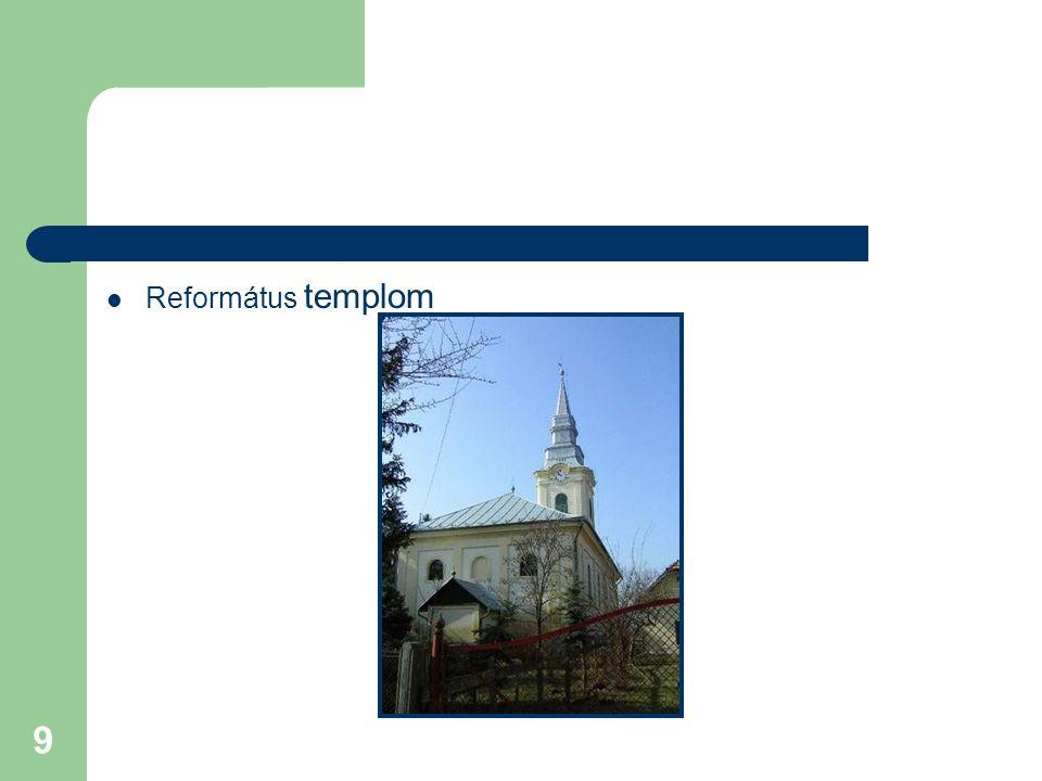 9 Református templom
