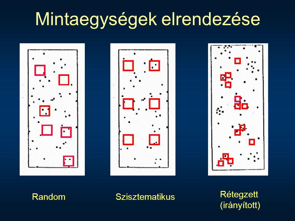 RandomSzisztematikus Rétegzett (irányított)
