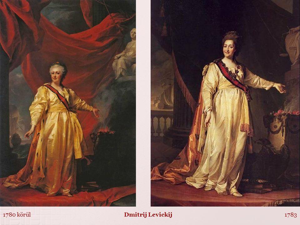 1780 körül1783Dmitrij Levickij