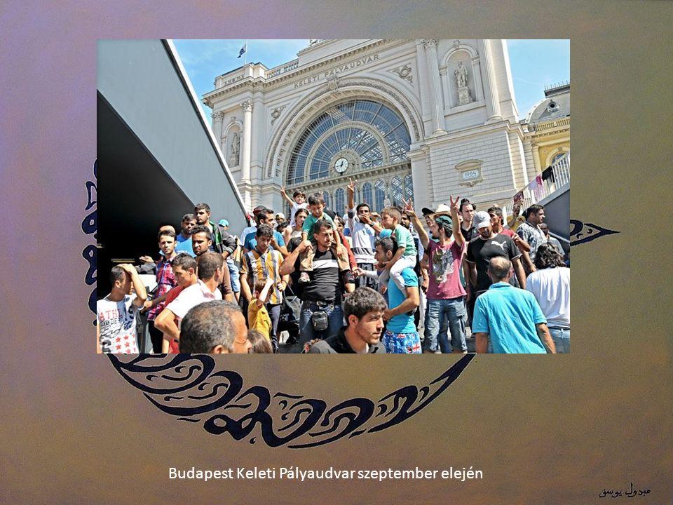 Budapest Keleti Pályaudvar szeptember elején