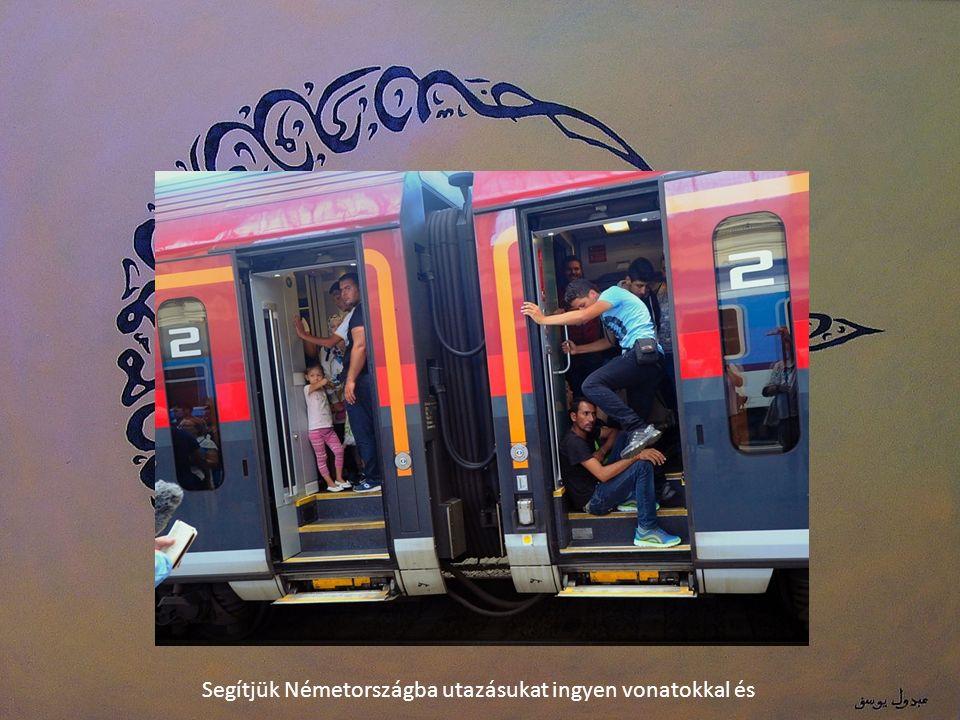 Segítjük Németországba utazásukat ingyen vonatokkal és
