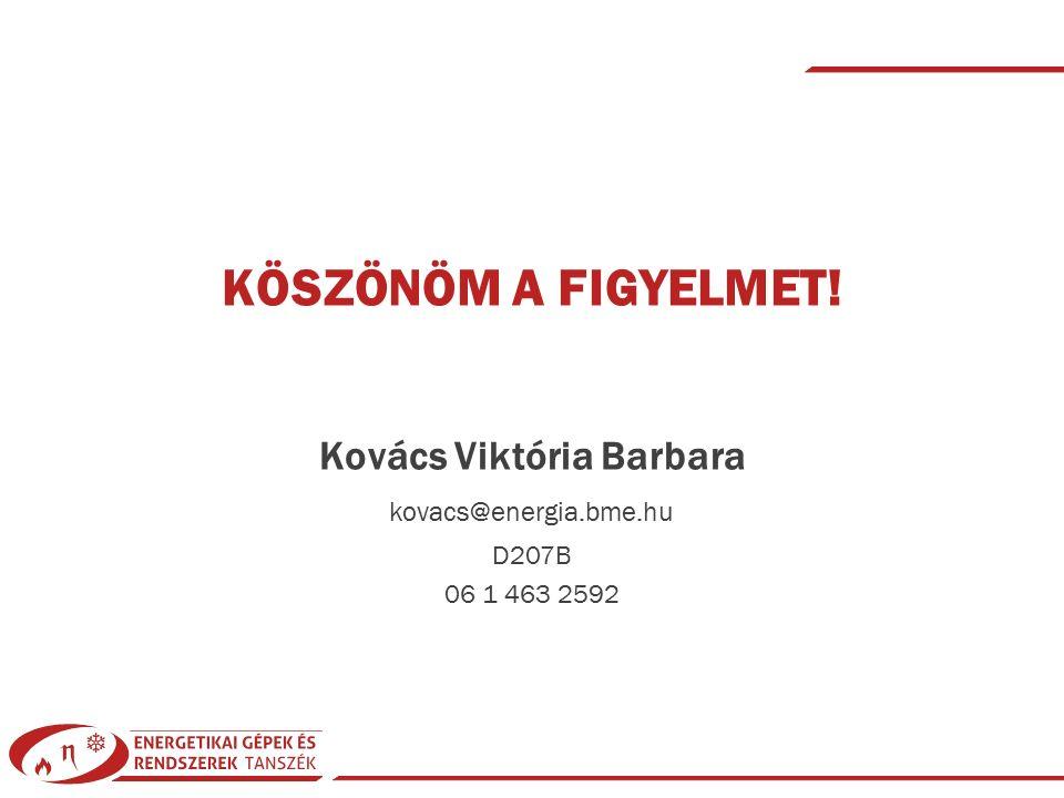 Kovács Viktória Barbara| Gázelemző készülékek| © 2015 BMEGEENAG51 és BMEGEENAG71| KF83 | 2015/16-1| 39 KÖSZÖNÖM A FIGYELMET.