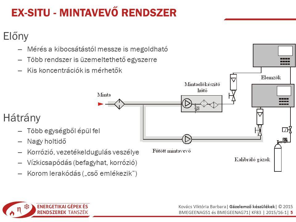 Kovács Viktória Barbara| Gázelemző készülékek| © 2015 BMEGEENAG51 és BMEGEENAG71| KF83 | 2015/16-1| 36 RÉGEBBI MÉRŐMŰSZEREK Duplex-Mono készülék: – CO2 meghatározása elnyeletés alapján Orsat készülék : – elnyelető oldat, mintagáz térfogatcsökkenéséből lehet következtetni az egyes komponensek mennyiségére CO +SO2-KOH O2-lúgos pirogallol oldat CO-ammóniás rézklorid