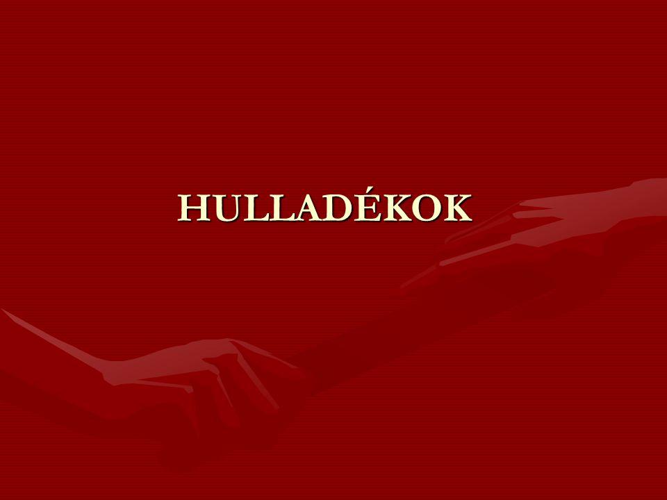 HULLADÉKOK