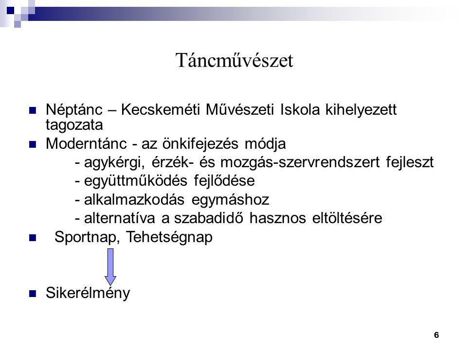 17 Idegen nyelv Info – kommunikációs technológiával oktatott angol nyelv Német és angol nyelvi projektek – teadélutánok Bécs – Párizs – London Angol nyelvvizsga eredmények 2008/2009.