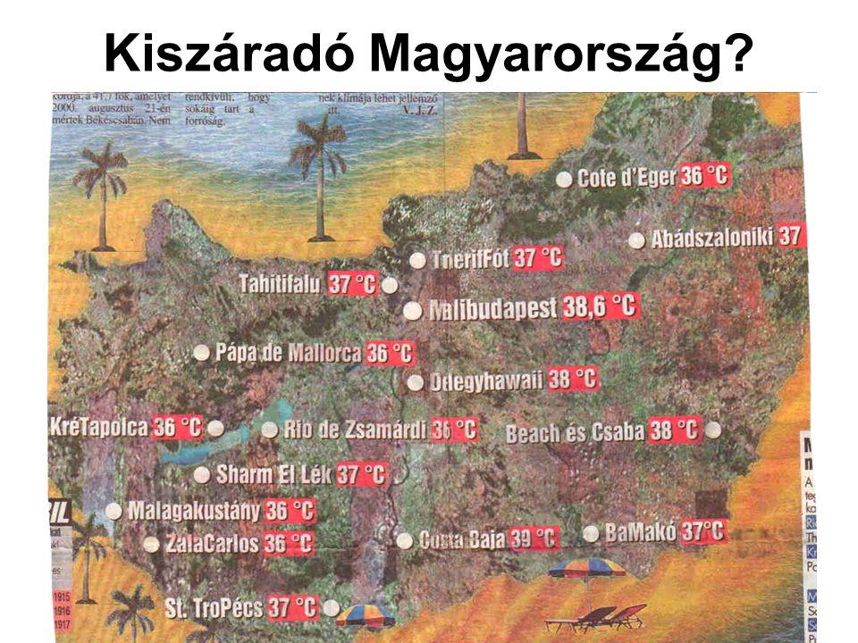 Kiszáradó Magyarország?