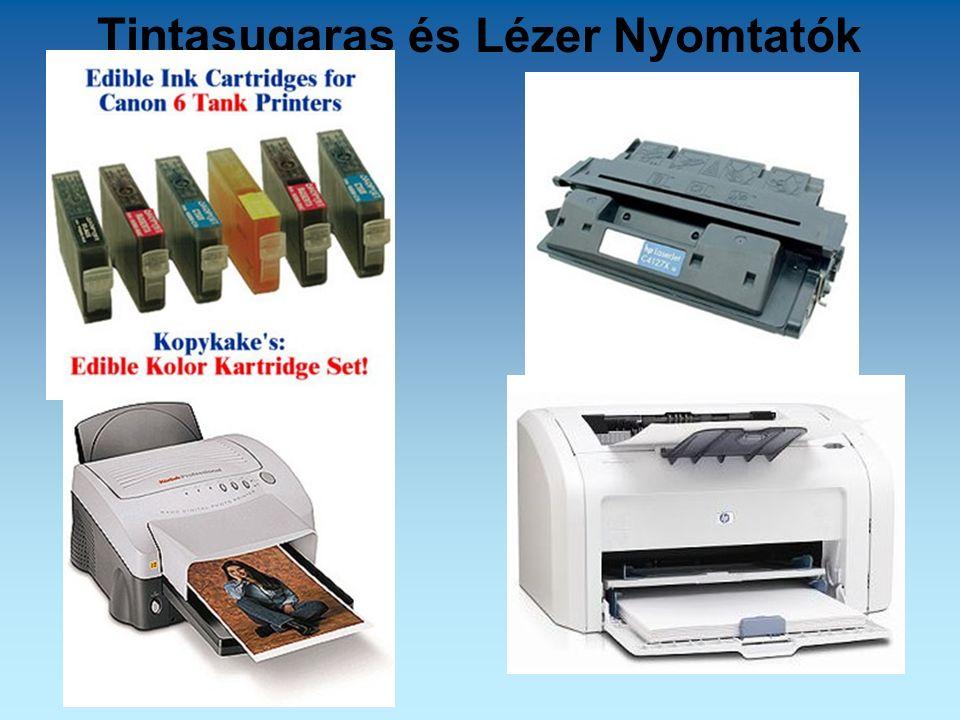 Tintasugaras és Lézer Nyomtatók