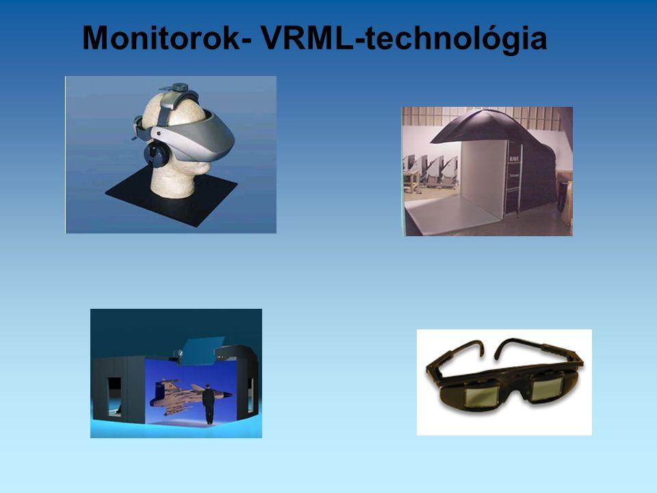Monitorok- VRML-technológia