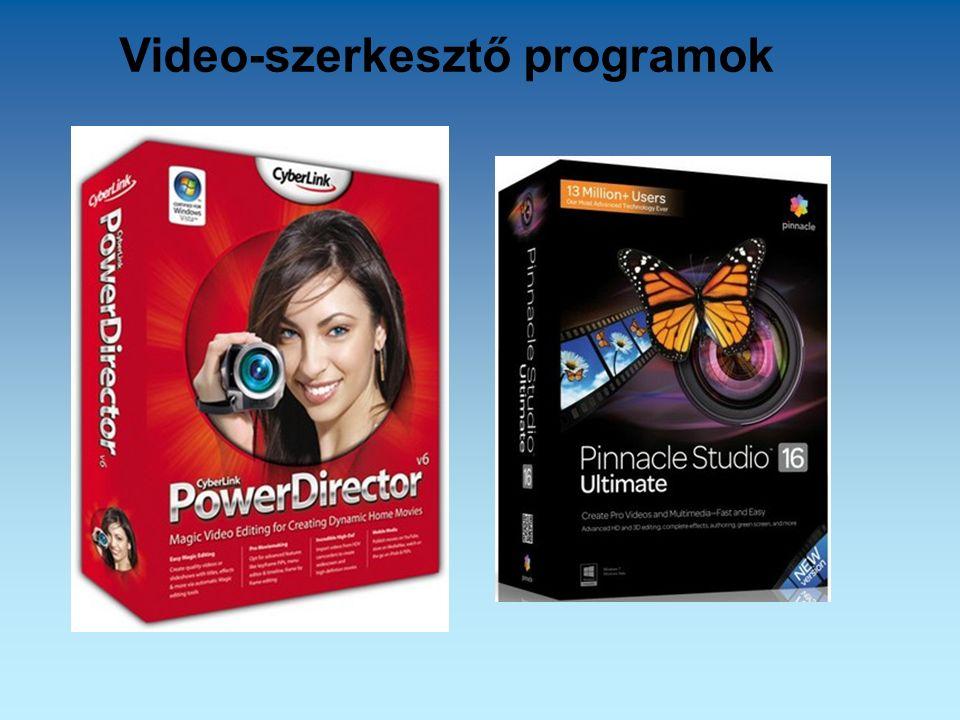 Video-szerkesztő programok