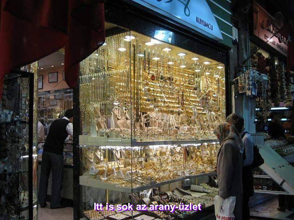 Itt is sok az arany-üzlet