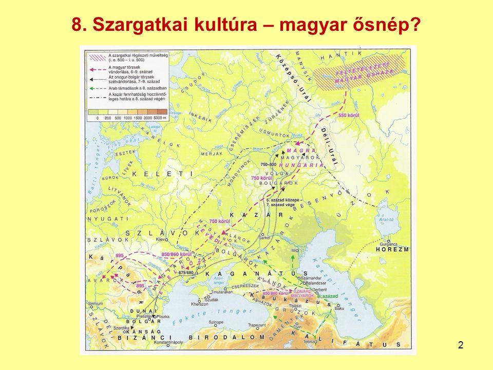 8. Szargatkai kultúra – magyar ősnép? 2