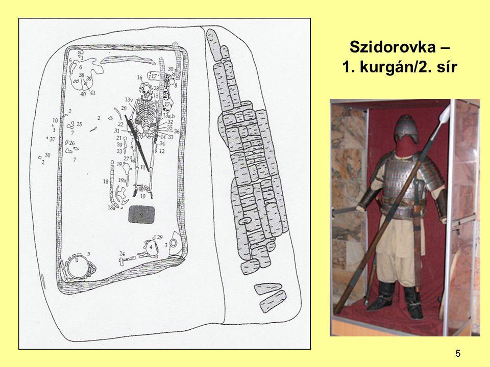 Szidorovka – 1. kurgán/2. sír 5