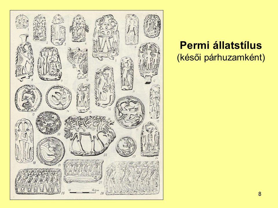 Permi állatstílus (késői párhuzamként) 8