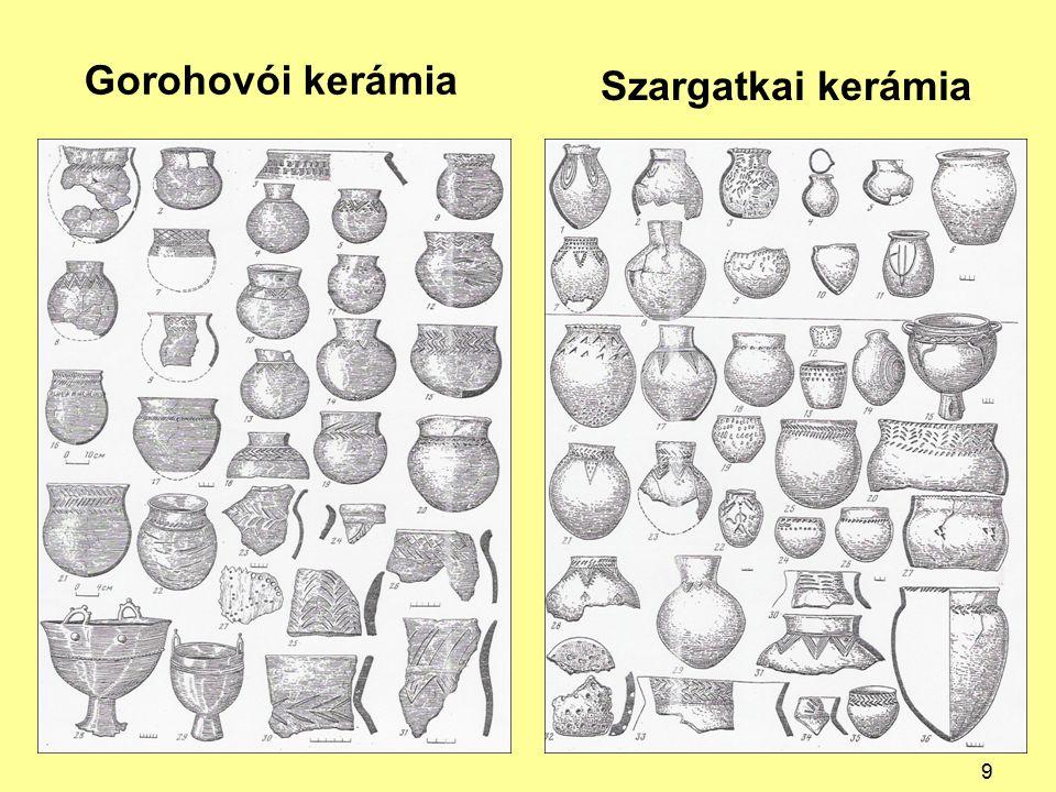 Gorohovói kerámia Szargatkai kerámia 9