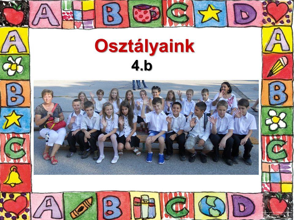 Osztályaink 4.b