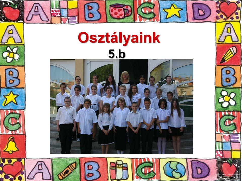 Osztályaink 5.b
