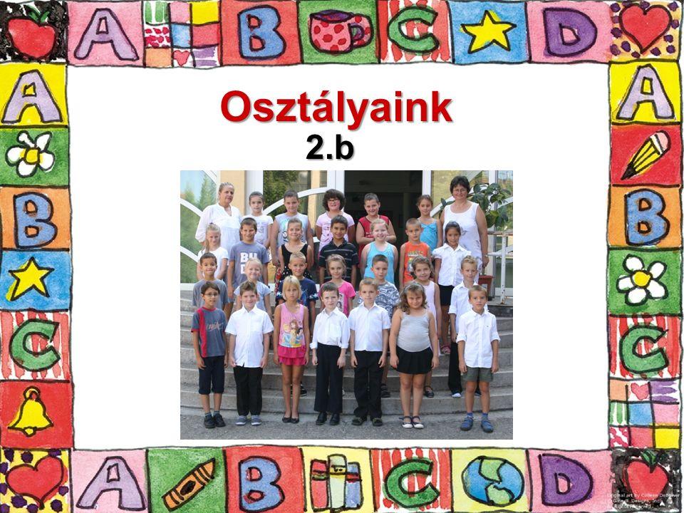 Osztályaink 2.b