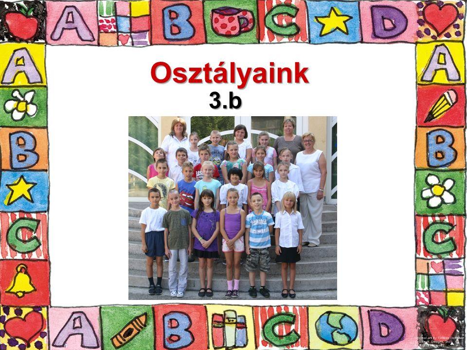 Osztályaink 3.b
