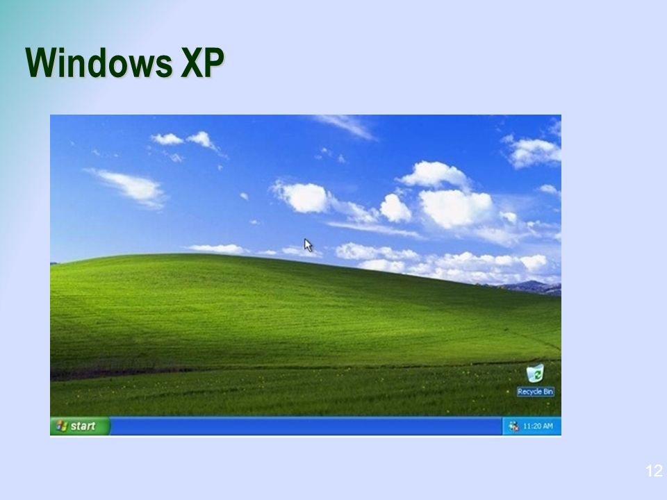Windows XP 12
