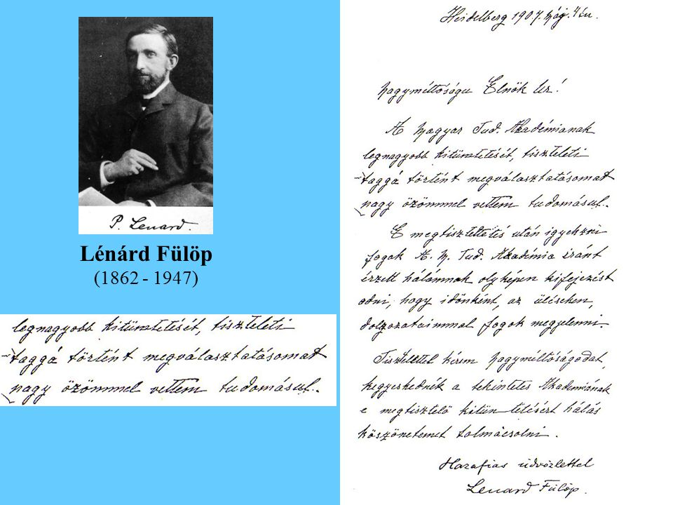 Lénárd Fülöp (1862 - 1947)