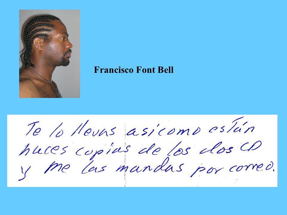 Francisco Font Bell